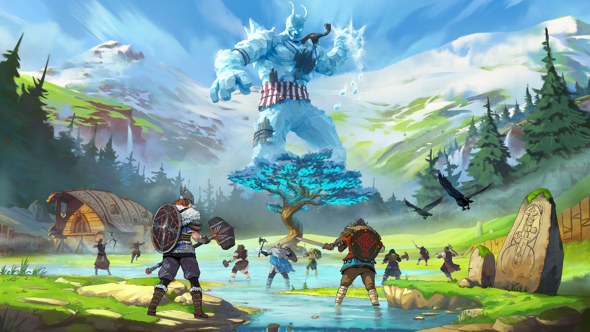 Tribes of Midgard Releases July 27th, 2021!